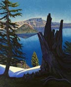 Linda Sorensen Blue Crater Lake