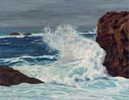 LL Sorensen Wave at Weston Beach Point Lobos Thumbnail
