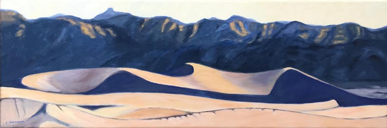 Linda Sorensen Dawn Dune Death Valley