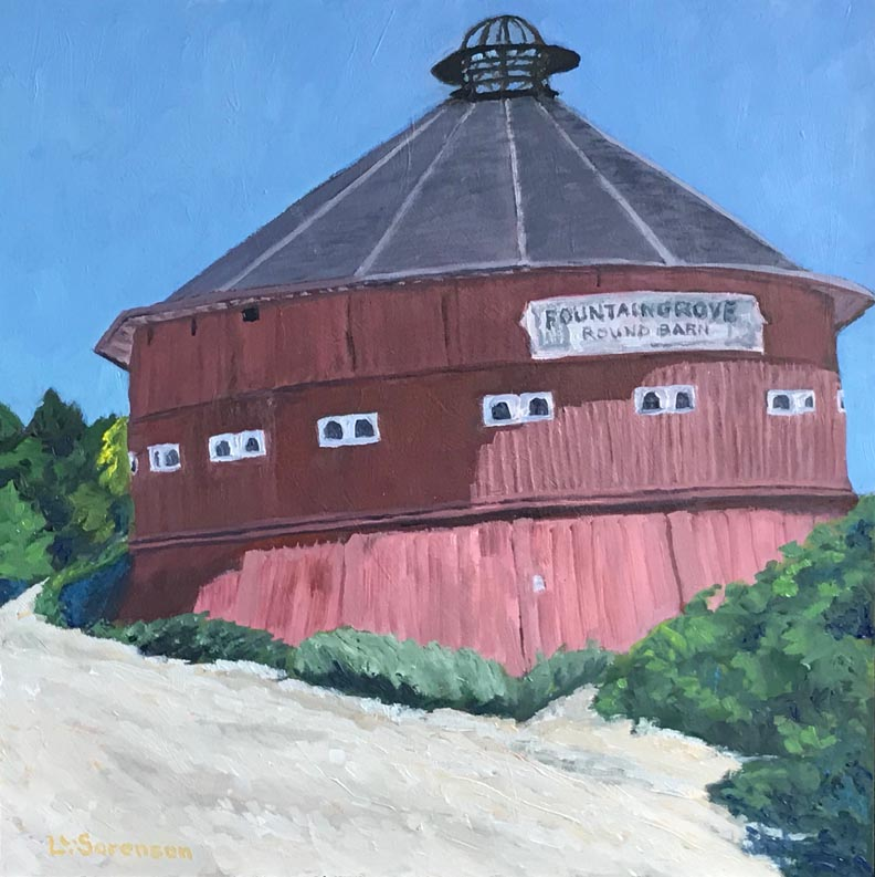 Linda Sorensen Remembrance Red Barn