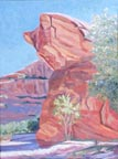 Canyon de Chelly Cat Linda Sorensen Thumbnail