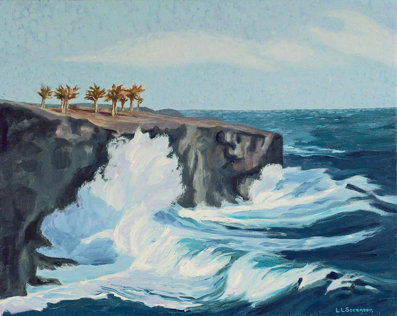 Linda Sorensen Lava Cliffs Spray