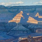 Llinda Sorensen Shadow Splashed Tower Grand Canyon